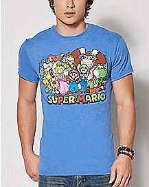 Group Photo T Shirt - Super Mario Bros.