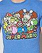 Group Photo T Shirt - Super Mario Bros.