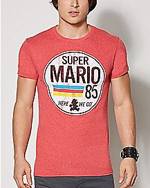 1985 Here We Go T Shirt - Super Mario Bros.