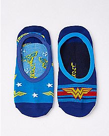 No Show Wonder Woman Socks 2 Pack - DC Comics
