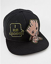 I Am Groot Snapback Hat - Guardians of The Galaxy