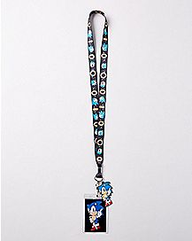 Rings Sonic the Hedgehog Lanyard