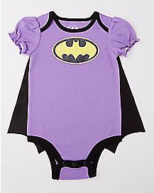 Caped Batgirl Baby Bodysuit - DC Comics