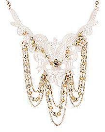 Lace Dangle Necklace