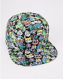 Allover Sublimated Rugrats Snapback Hat