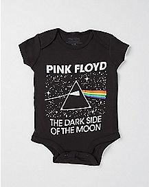 The Dark Side of The Moon Pink Floyd Baby Bodysuit