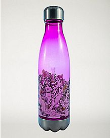 Floral Disney Princess Water Bottle