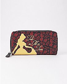 Beauty and the Beast Zip Wallet - Disney