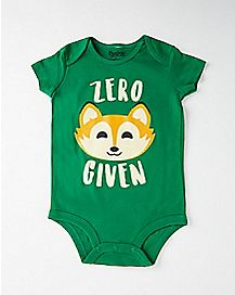 Zero Fox Given Baby Bodysuit