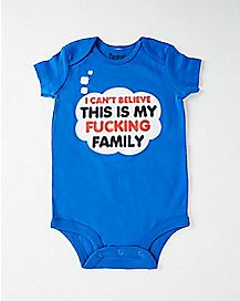 Can't Believe This Is My Family Baby Bodysuit