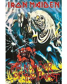Number of the Beast Iron Maiden Poster
