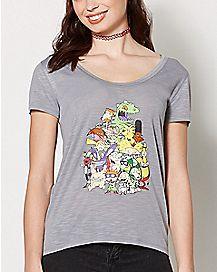Nick Rewind High Low T Shirt- Nickelodeon