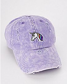 Distressed Unicorn Dad Hat