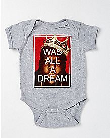 Biggie All a Dream Baby Bodysuit