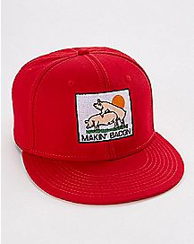 Makin' Bacon Snapback Hat