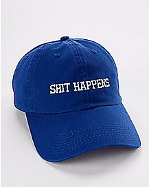 Shit Happens Dad Hat