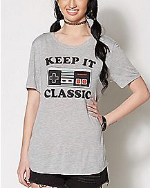 Keep it Classic T Shirt - Nintendo