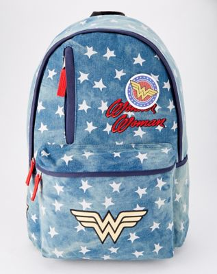 Vintage Wonder Woman Backpack