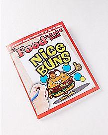 Nice Buns Food Coloring Book