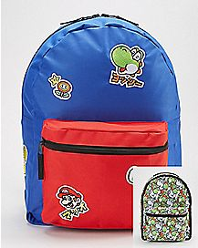 Reversible Yoshi Backpack - Nintendo