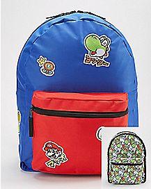 Reversible Yoshi Backpack - Nintendo