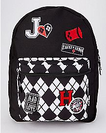 Harley Quinn Reversible Backpack - DC Comics