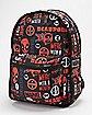 Reversible Deadpool Backpack - Marvel Comics
