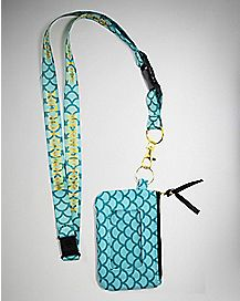 Mermaid For Life Lanyard