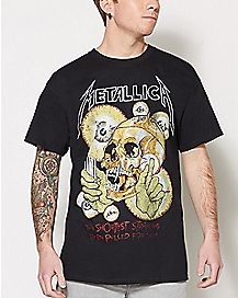 Shortest Straw Metallica T Shirt