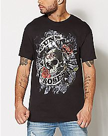 Firepower Guns N Roses T Shirt