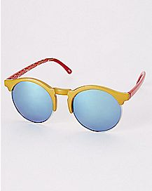 Wonder Woman Round Sunglasses- DC Comics