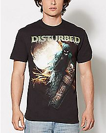 Creeping Coffin Disturbed T Shirt