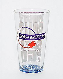 Baywatch Pint Glass - 16 oz.