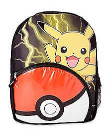 Pikachu Pokemon Backpack