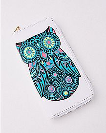 Owl Zip Wallet