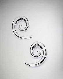 Silver-Colored Magnetic Faux Spiral Set