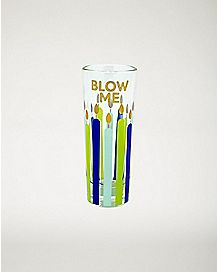Blow Me Shot Glass - 2 oz