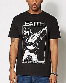 Faith George Michael T Shirt