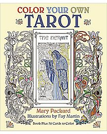 Color Your Own Tarot Coloring Book