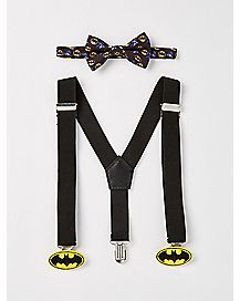 Kids Batman Suspender and Bowtie Set - DC Comics
