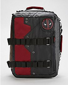 Convertible Deadpool Backpack - Marvel Comics