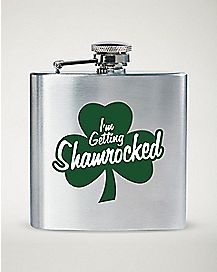 I'm Getting Shamrocked Flask - 6 oz
