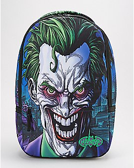 Sublimated Joker Backpack - DC Comics