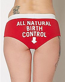 All Natural Birth Control Panties