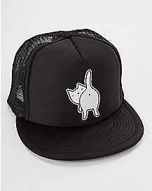 Cat Ass Trucker Hat