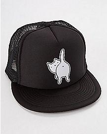 Cat Ass Trucker Hat