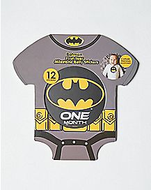 Batman Baby Milestone Stickers - DC Comics