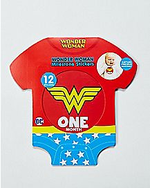 Wonder Woman Baby Milestone Stickers - DC Comics