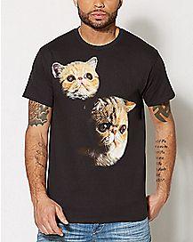 Sad Cat T Shirt