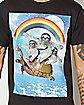 Sloth Turtle Rainbow T Shirt